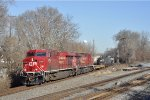 CP 8709 On NS 375 Eastbound
