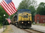 CSX and American Flags, Part 1