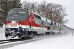 "Late ""Empire Builder"" races east"
