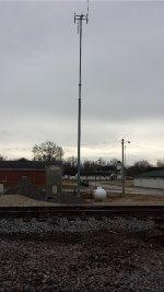 CN Tilt over antenna tower