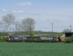 Grain train at East Vauces.