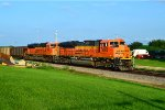BNSF 9062 and 9091
