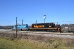 2 Other SD40s work the yard also.