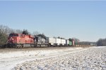 CP 9356 On NS 282 Westbound At The Pines