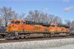BNSF 6281 At New River Yard