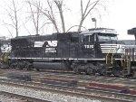 NS 7020 at Oak Street Yard