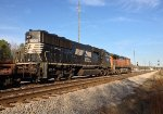NS SD60E 7009 and BNSF C44-9W 5068