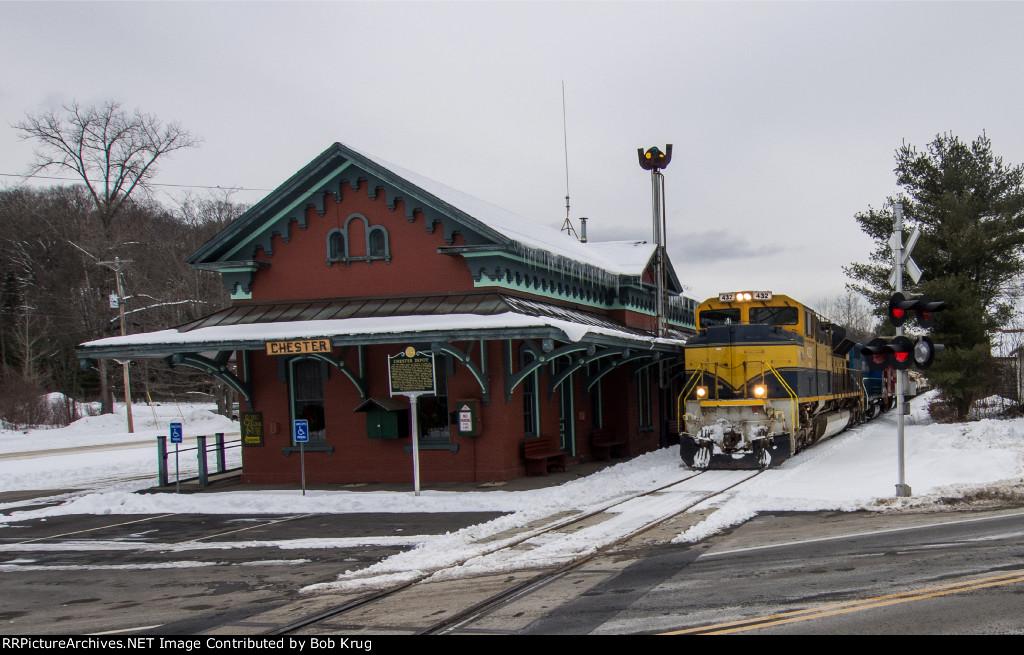 The ex-Rutland RR depot in Chester, VT