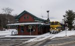 The ex-Rutland RR depot in Chester, VT