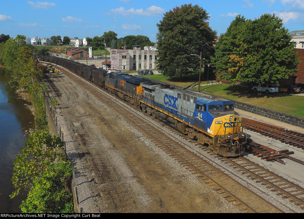 CSX 64 and 3093 (2)
