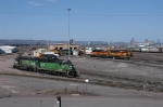 BNSF 2930 and others at the Belknap Engine Facility