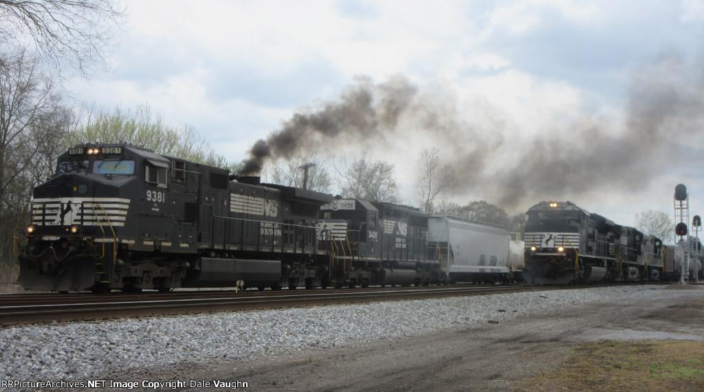 NS 9381 & NS 1153