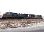 CSX 7692 and 5235