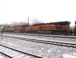 BNSF 6866 and 7172