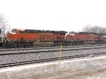 BNSF 7172 and 6866