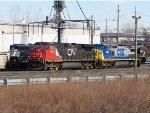 CN 2550 and CSX 7913