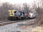 CSX 7913 and CN 2550
