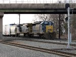 CSX 8027 and 7390