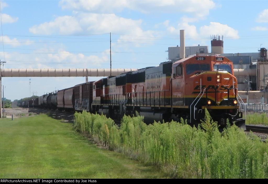 BNSF 269 West