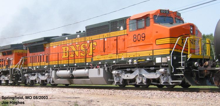 BNSF 0809