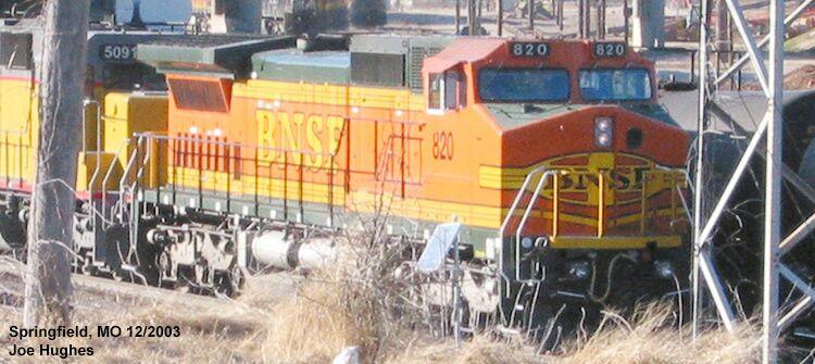 BNSF 0820