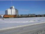 Loaded coal train with 2 MACS!!!
