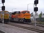 BNSF SD70ACe 9378
