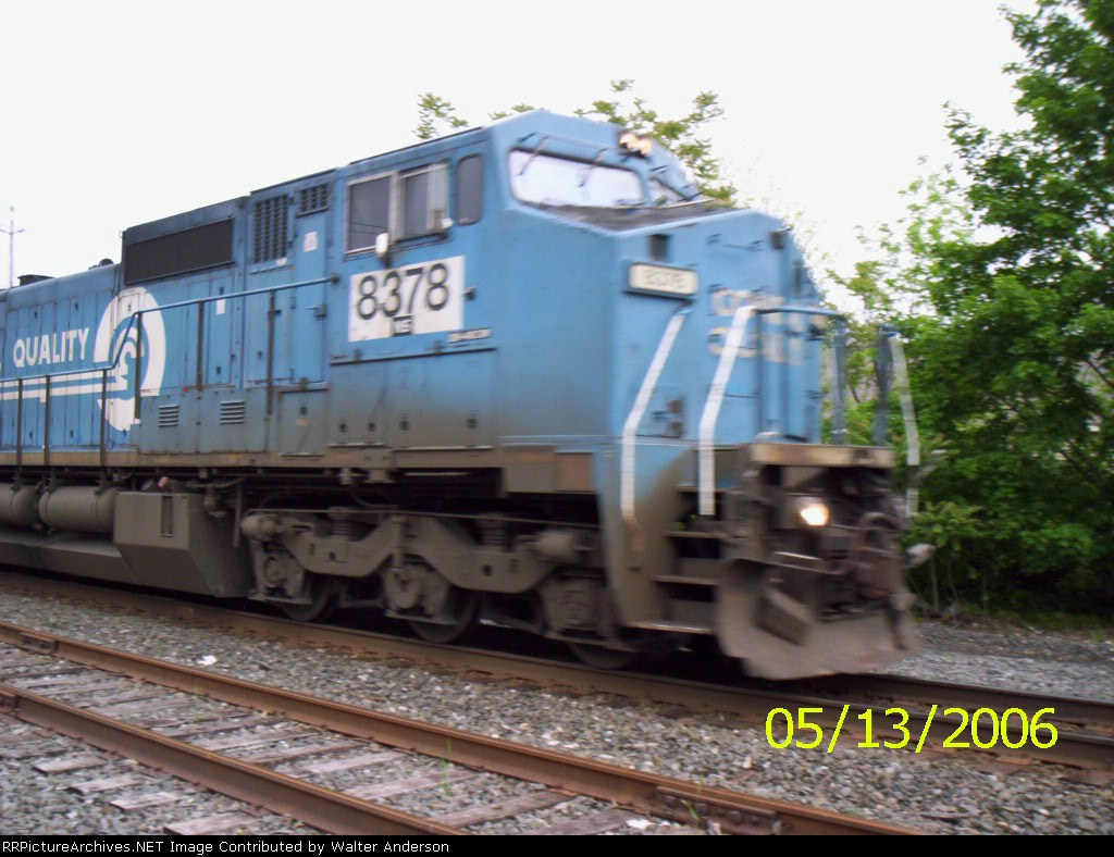 NS 8378 still in Conrail blue