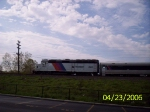 NJT 4143 pulling westbound