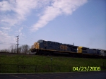 CSX 5345 westbound
