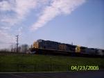 CSX 5345 westbound