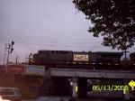 CSX 699 heads WB over the Faitoute Ave. Bridge