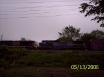 CSX 5315 & 7758 EB 