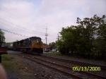 CSX 5208 & 5105 head an EB manifest through the crossing