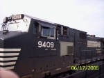 NS 9409 on the point