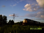 CSX 623 at sunset