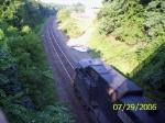 NS 9431 leading a westbound manifest/autorack train(11J)