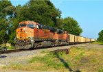 BNSF 6328 and 9355