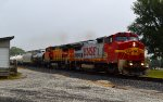 BNSF 539 and 553