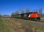 B798 enroute Huntingdon, Canada