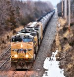 UP 6944 5588 CSX Train K610 Ethanol Loads