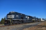 NS 7222 RadialAC SD80MAC Train 211