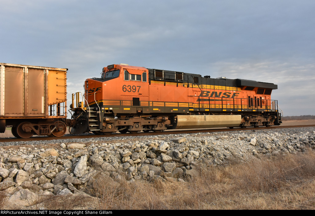 BNSF 6397 DPU