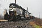 NS 1635 High hood Sd40-2 running long hood.