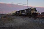 NS 7268 Leads NS 223 east in the early Am.