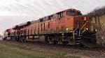 BNSF 6632 leads 677 north.