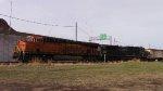 BNSF 7954 with CN U705