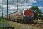 Amtrak Metroliner 882 at speed