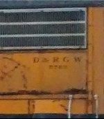 DRGW 5763 number crop