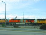 BNSF on UP # 5869